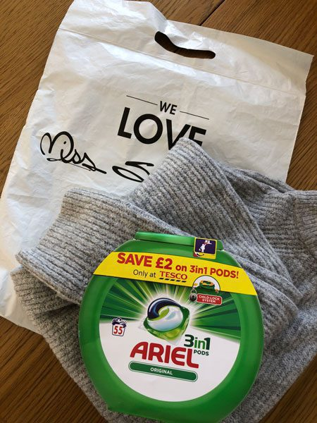 ariel-miss-selfridge-product-sampling-online