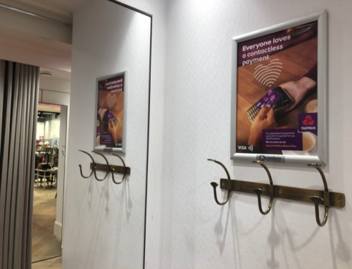 Fitting Room Poster Campaign – NatWest & RBS 'Ways to Pay'