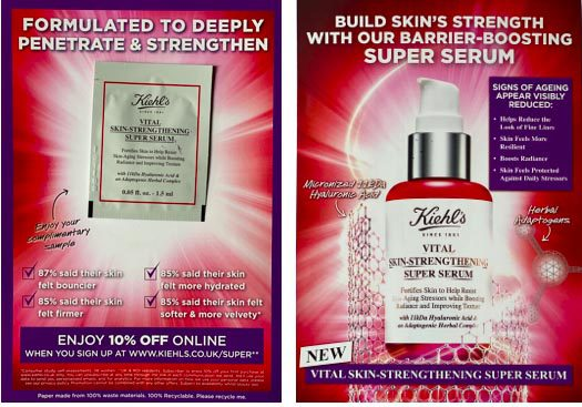 Kiehl's Sampling Campaign