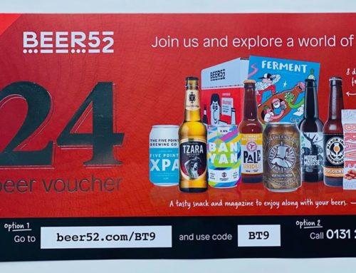 Beer52 Voucher Insert Campaign