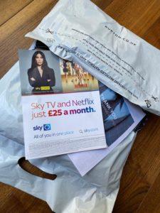 sky tv topman leaflet