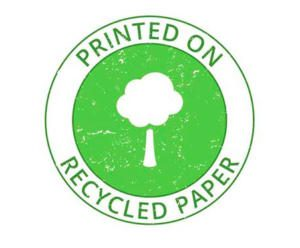 Printed on recycled paper