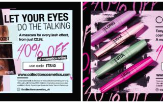Collection Cosmetics postcard