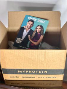 My Protein campaign with BBC